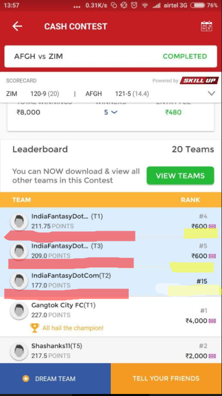 How to earn money from dream11 - Quora