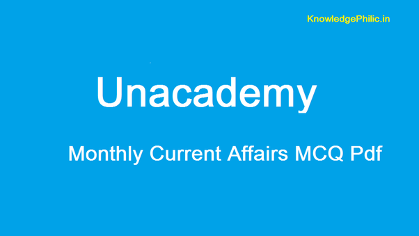 Is it possible to get Unacademy CSE Current Affairs MCQs