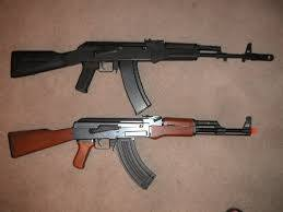 What Are The Aesthetic Differences Between An Ak 47 And A Ak 74 In