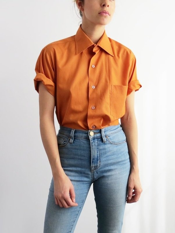 Which Colour Goes With An Orange Shirt Quora