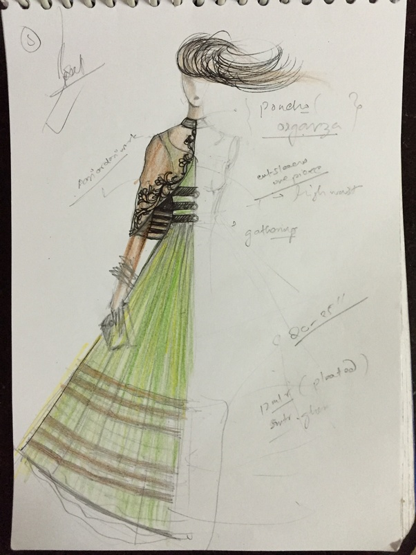 Why Are All The Fashion Designers So Amazing At Sketching Quora