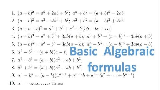 What Is The Formula Of Math A 3 B 3 Math Quora