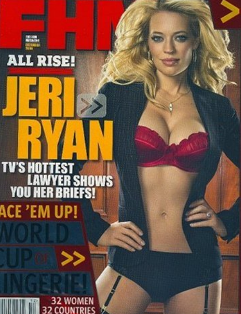 Are jeri ryans boobs real
