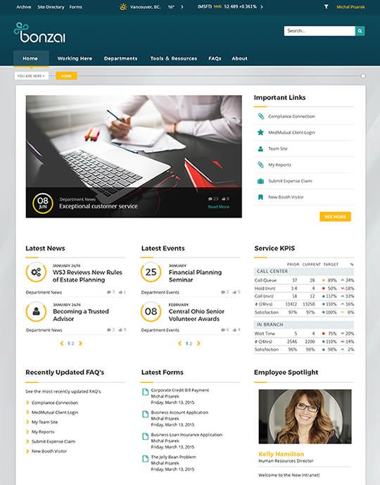 What is the best tool to create a company intranet? - Quora