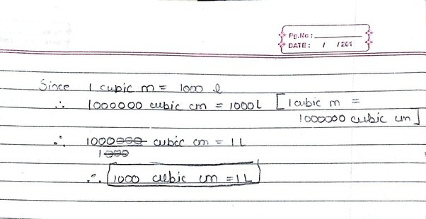 1liter is equal to how many cubic cm quora - One liter is equal to how many kg ...