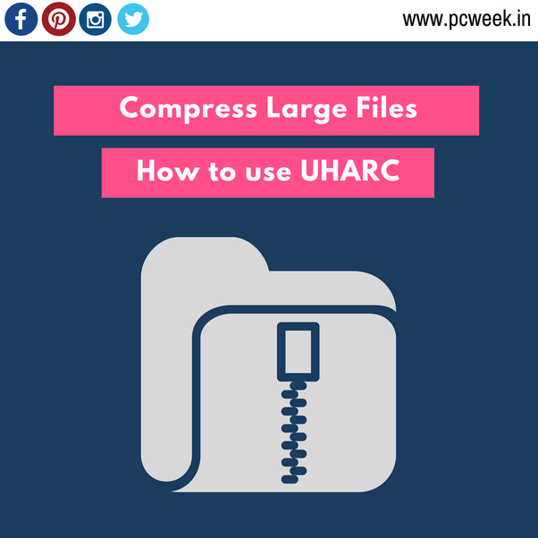 How to safely compress LARGE files into very small size to