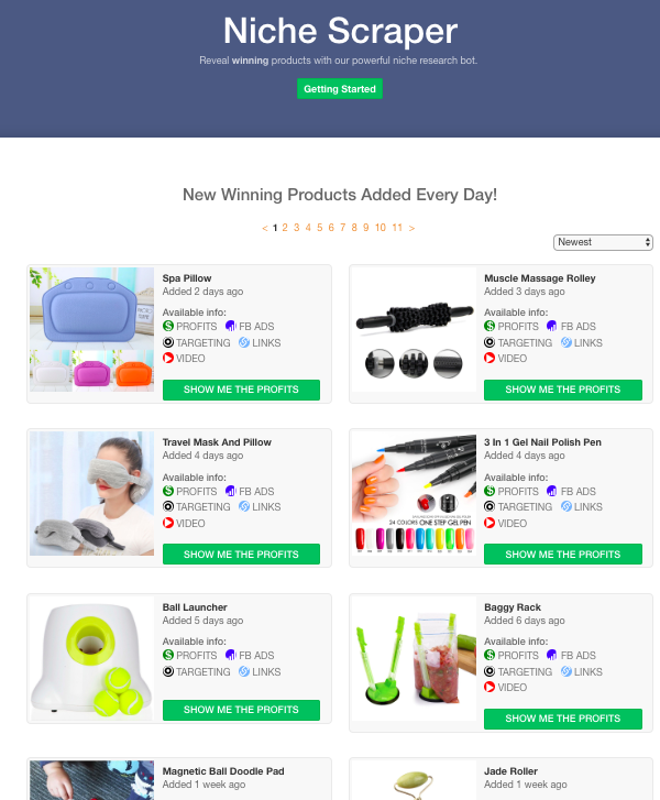 Recently they have added a new update in their system after which Niche  Scraper can even scrape the list of products that are trending on Aliexpress  itself! c90f90e0f49