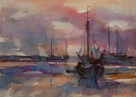 I Love Jan Velthuis Watercolour Paintings