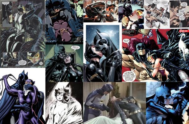 Batman having sex with cat women