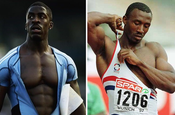 Muscular sprinters