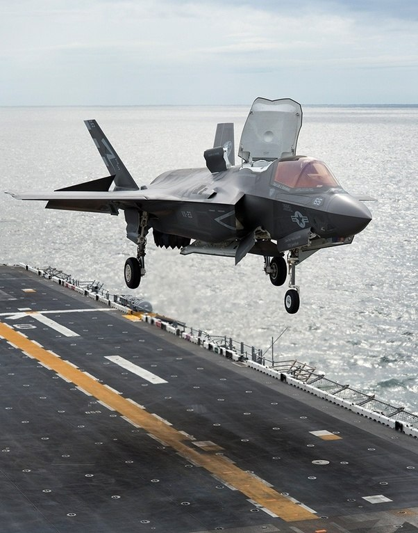 could an f-35b be based off the uss zumwalt