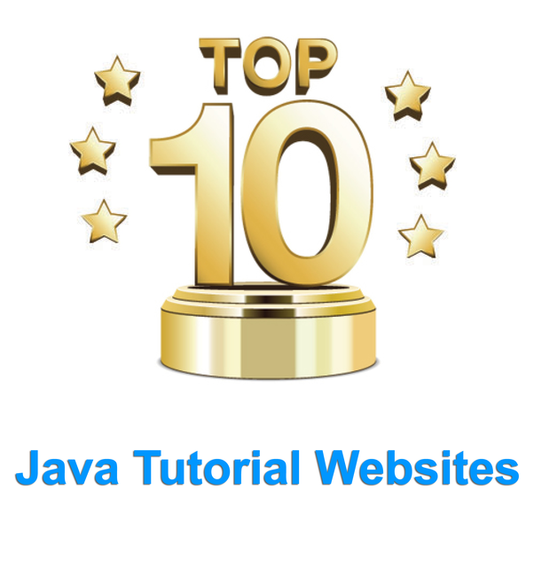 What are the top 10 websites for learning Java from basic that helps