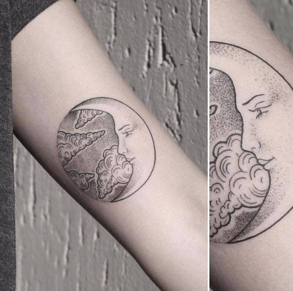 What Does A Crescent Moon Tattoo Mean Quora