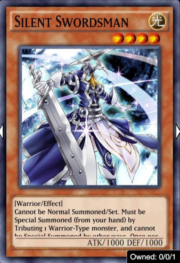 Yugioh Silent Swordman