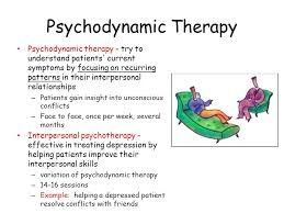 how psychodynamic therapy works and its manifestations on human behavior The goals of psychodynamic therapy are client self-awareness and understanding of the influence of the past on present behavior in its brief form, a psychodynamic approach enables the client to examine unresolved conflicts and symptoms that arise from past dysfunctional relationships and manifest themselves in the need and desire to abuse .