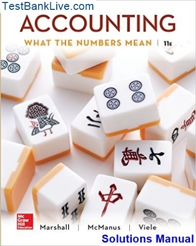 accounting what the numbers mean 9th edition solutions manual free