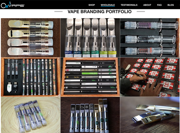 Where is the best place to buy wholesale vape oil cartridges? - Quora