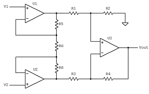 How to interface a load cell lm741 amplifier and arduino quora although if you really want to use the lm741 amplifier then you will need to get three lm741 amplifiers and a couple of resistors ccuart Images