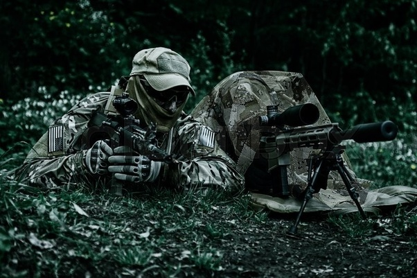 What is the difference between a Marine sniper and an Army