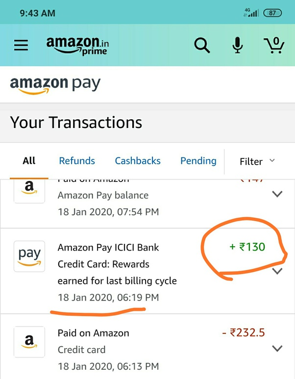 Has Anyone Availed The New Amazon Pay Credit Card By Icici Is It Good Quora