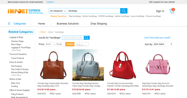 6cef8d3ac2 Where can I buy wholesale handbags  - Quora