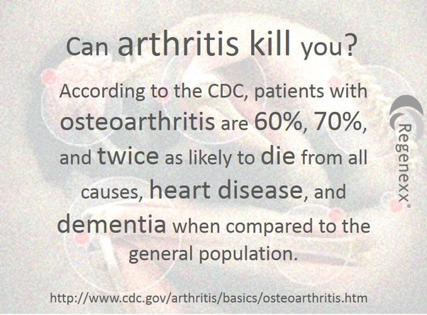 can you die from inflammatory arthritis