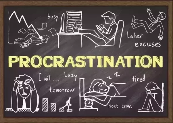 Study of defining procrastination behavior