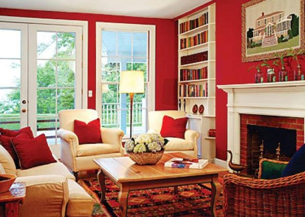 Red Raises A Roomu0027s Energy Level. The Most Intense Color, It Pumps The  Adrenaline Like No Other Hue. It Is A Good Choice When You Want To Stir Up  Excitement ...