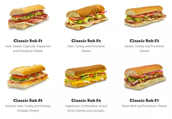 if subway s sandwiches have the same ingredients as the ones i make