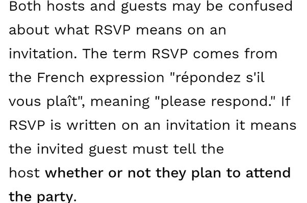What is the meaning of rsvp on an invitation card quora full form of rsvp is reply if you please stopboris Gallery
