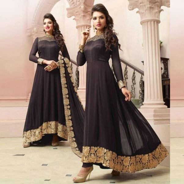Pakistani style Anarkali Salwar Kameez Suit Indian Designer Salwar Kammez Work