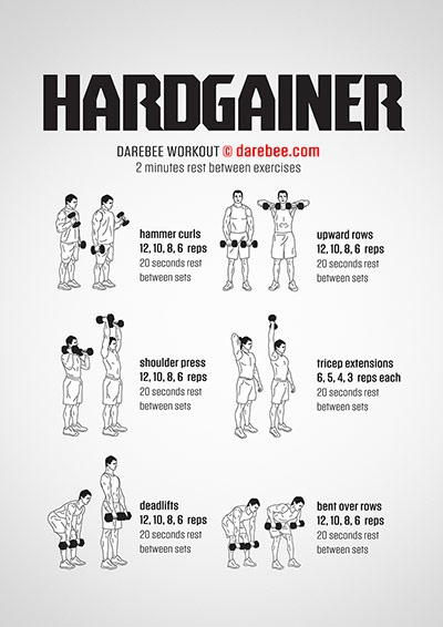 An Example Of A Great Dumbbell Workout