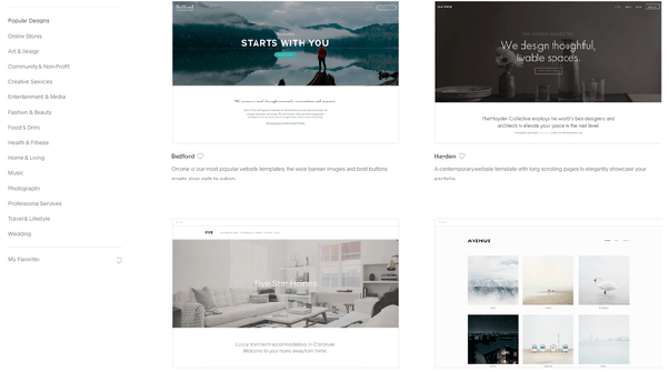 Squarespace vs  Wix? Any real differentiation? Is one the