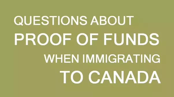 For canadian express entry when do you need to show proof of funds you need to show enough funds for settling in canada only when you have been selected and given an ita and are ready to migrate to canada altavistaventures Gallery