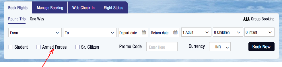 How To Book A Flight Ticket From The Defence Quota Quora
