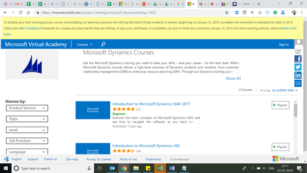 What is the best Microsoft Dynamics 365 online training