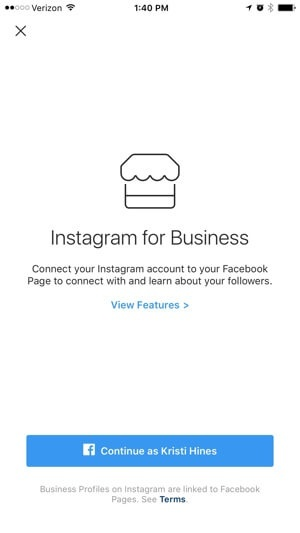 How to change my address on instagram business quora explore business profile features from here ccuart Gallery