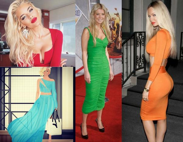 since i am blonde what color dress should i wear quora