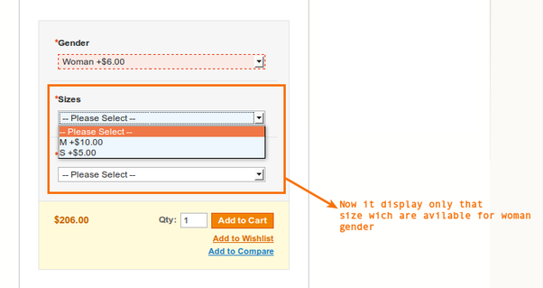 Is there any way to create dependent custom options in Magento 2