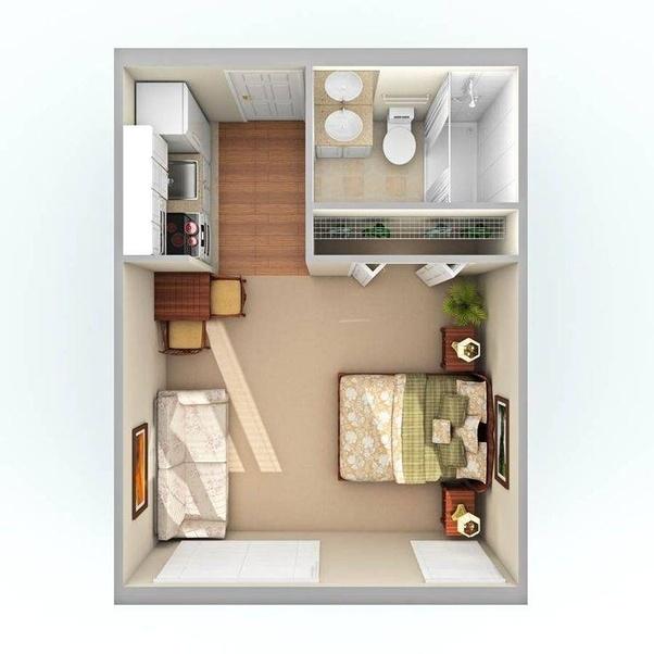 My Place Less 30 Via Studio Apartment Layout