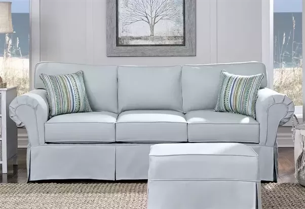 Great Ashton Sofa With Slipcover Shown Above.
