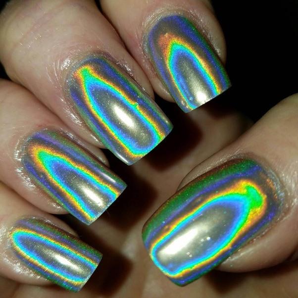 How To Use Hologram Nail Polish
