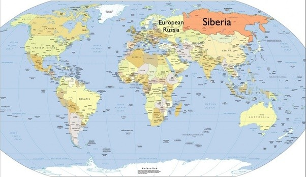 What is the location of siberia on the map quora european russia is the smaller but much more populated section of russia siberia has a tiny population but immense natural recourses gumiabroncs Choice Image