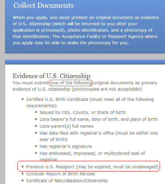Is a U.S. passport that expired more than 15 years ago sufficient ...