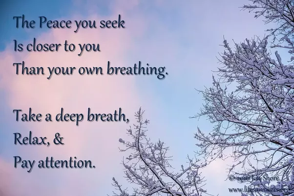how to find peace within myself