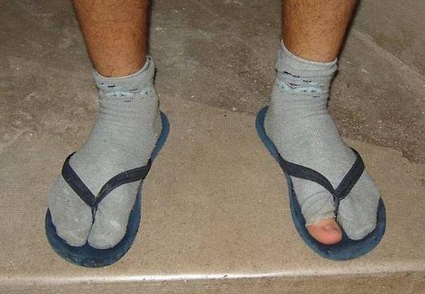 Is it true in Russian cities you can't wear flip flops ...