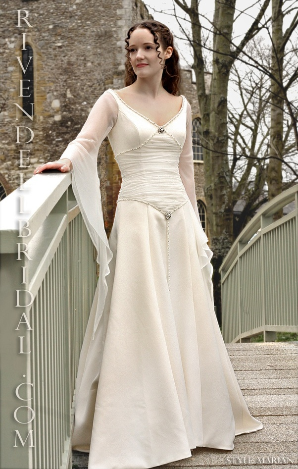 Where can I find a medieval wedding dress or pattern? If ...