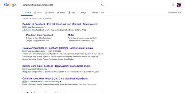 Adakah yang memiliki situs web di peringkat pertama Google? Berapa ...