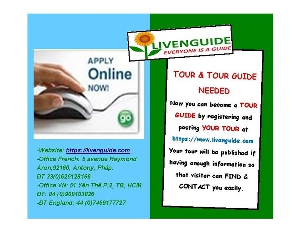 LivenGuide Needs Many Tour Guides For The End Year Tourism Season: Please  Register To Apply Online And Post At Least One Tour At  Https://livenguide.com  Where Can I Post My Resume
