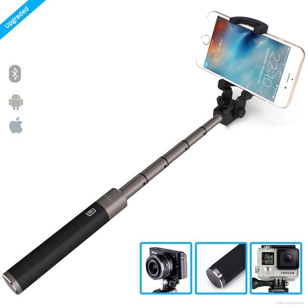5b041e546568f5 PREMIUM ALUMINIUM DESIGN : NUSTAR 5 is most advanced selfie stick among  ZAAP Selfie range. Super Extendable Light Weight Aluminium design.